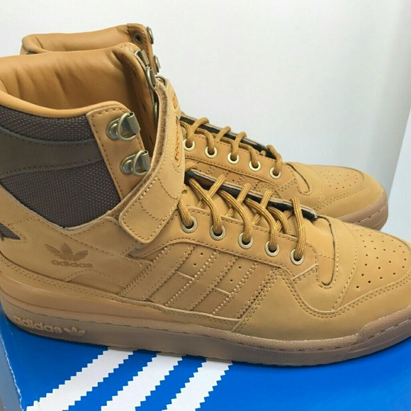 best loved b491b 58d0b Adidas Forum HI OG Mesa Gum Brown AQ5519